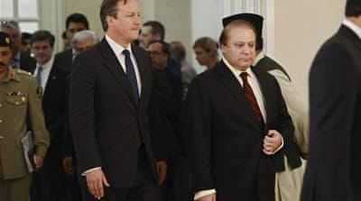 Cameron visited British troops in the Afghan southern province of Helmand earlier on Saturday [AFP]