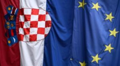 Croatia begins countdown to EU entry