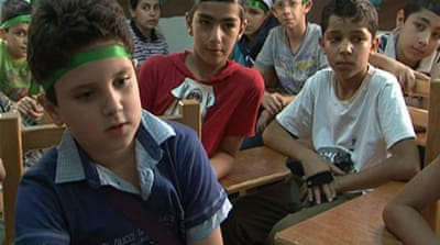 Syrians continue education in Egypt
