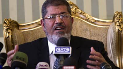 Morsi was elected president of the Arab world's most populous country in June 2012 [EPA]