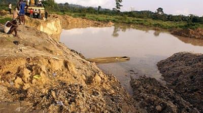 Ghana arrests Chinese over 'illegal mining'