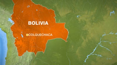 The violence took place in a Quechua community near the municipality of Colquechaca [Al Jazeera]