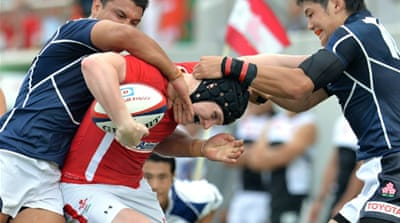 The young Wales side were outscored two tries to one but clawed their way back as Asian champions Japan paid the price for missing three kicks [AFP]