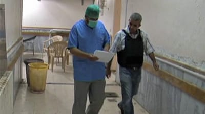 Syria hospital buckles under strain of war