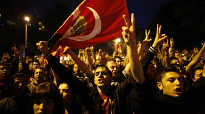 Turks sharply split over protest movement