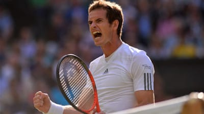 Murray will face Spain's Fernando Verdasco for a place in the semi-finals [AFP]