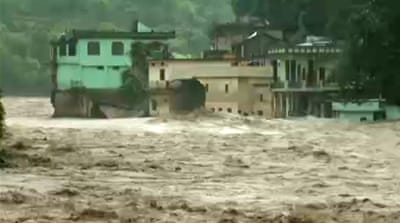India floods continue to cause havoc