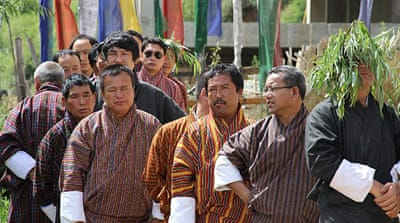 Bhutan's opposition party scores upset win