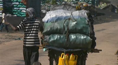 Somalia's illegal charcoal trade