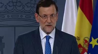 Spain PM says he will stay despite pressure