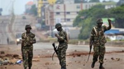 The violence led the army to impose a curfew in Guinea's second-largest city [AP]