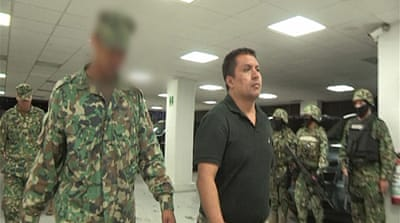 Miguel Angel Trevino, the leader of the Zetas cartel, was captured by Mexican security forces on Monday [Reuters]