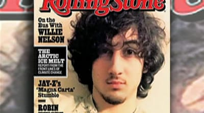 Anger at Boston-bomb suspect magazine cover