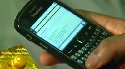 Nigerians use phones to detect fake drugs