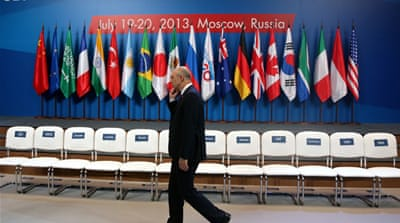 Russia is currently the G20 host and member states will reconvene in Moscow in September [EPA]