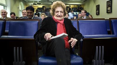 Pioneer journalist Helen Thomas dies at 92