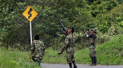 The Colombian government and FARC rebels are holding peace talks [EPA]