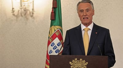 Portugal's President Anibal Cavaco Silva expects the move could complete Portugal's  bailout programme [Reuters]