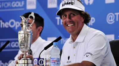 Six-time US Open runner-up Mickelson knows there is one more tournament to win [AFP]
