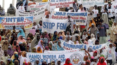 THE UNICEF report found the highest rates of FGM in Somalia, where 98 percent of females have been cut [EPA]