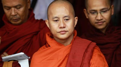 Wirathu has been accused of stirring up hatred against Muslims in Myanmar [Reuters]