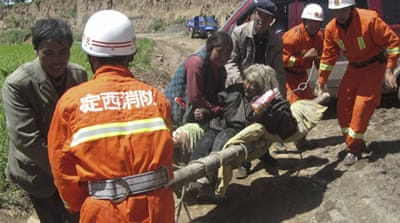 Death toll climbs after China earthquakes