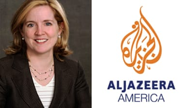 Kate O'Brian, the president of Al Jazeera America, says the channel will fill 'a gap' in the US news media landscape