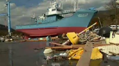 Japan's tsunami debris litters Canadian shore
