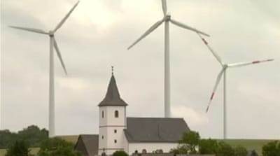 German ecologists decry wind turbines