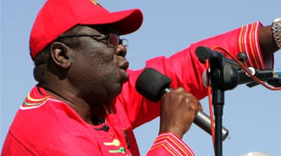 The eldest of nine children, Tsvangirai first sought work at a textile mill before joining a nickel mine [AFP]