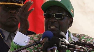 Mugabe has been accused of plundering the economy while his wife grabs headlines for her lavish lifestyle [Reuters]
