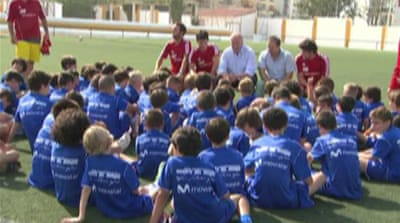 Vicente del Bosque's youth project