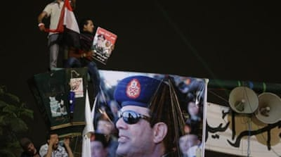 "That defense minister Abdel Fattah al-Sisi urged for reconciliation only a week before threatening the president with a 48-hour ultimatum... doesn't bode well for the future of democracy,"" writes Marwan Bishara [AP]"