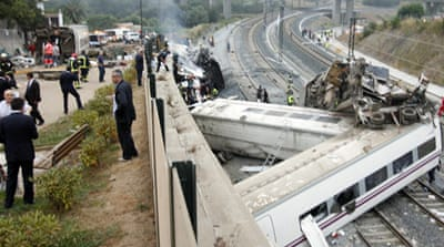 Scores dead in Spanish rail disaster