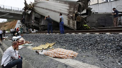 Spain train crash driver held in custody