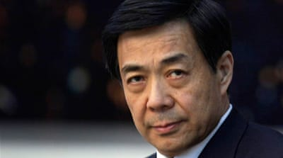 China charges Bo Xilai with corruption