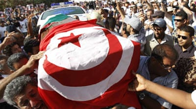 The killings of leftist secular leaders plunged Tunisia into political turmoil [Reuters]