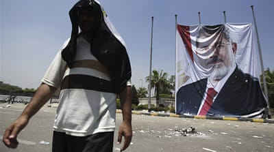 Egypt's health ministry said 72 people were killed in clashes with pro-Morsi supporters and security forces [Reuters]