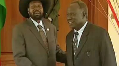 South Sudan gripped by power struggle
