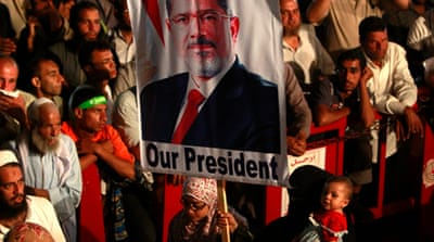 Egypt rulers to disperse pro-Morsi protests