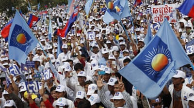 Cambodia opposition claims massive poll fraud