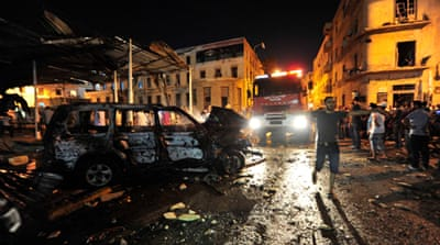 Clashes erupt in Benghazi after blasts