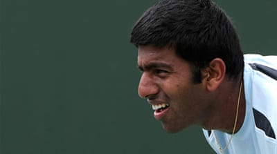Bopanna, and his partner Edouard Roger-Vasselin have reached the men's semi-finals at Wimbledon [AFP]