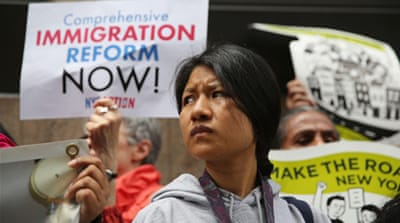 An immigration reform that's inclusive of 11m undocumented people passed the US senate June 27 [Getty Images]