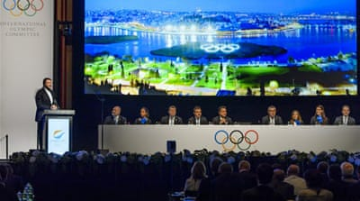 The IOC's technical evaluation released last week gave Tokyo a particularly favourable review [EPA]