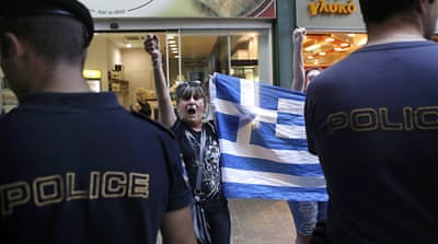 The rich will be forced to pay for police protection under a plan proposed by the Greek government [Reuters]