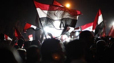 The Egyptian army announced Egypt's first democratically elected president, Morsi,  rule was over on July 3 [AFP]