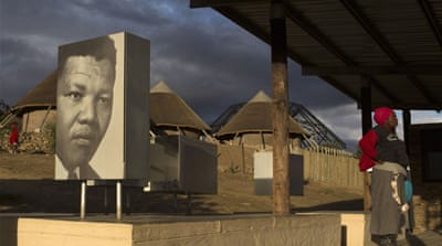 """Mandela is being given the dying celebrity treatment with the focus on personality, not politics, on his iconic status,"" writes Danny Schechter [Reuters]"