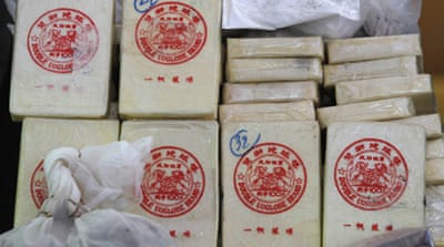 The Golden Triangle is one of the most extensive drug trafficking areas in Asia [EPA]