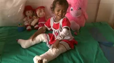 Little girl's survival inspires India